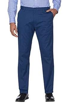 IZOD Mens Sportflex Max Straight Fit Chino Pants  Cadet Navy 34Wx32L