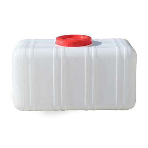 YXYXX Material HEPE Bidón, Tanque De Agua con asa, para Acampar en Casa al Aire Libre, Senderismo, Picnic, Barbacoa/Blanco / 200L