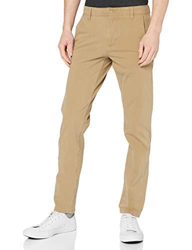 Dockers Smart 360 Flex Alpha Slim Pantalon, Marron (New British Khaki 0000), W34/L30 Homme