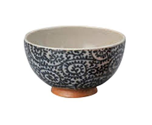 土物タコ唐草青茶碗 [ 11 x 6.3cm ] 【 飯碗】 【 定食屋 飲食店 和食器 業務用 】