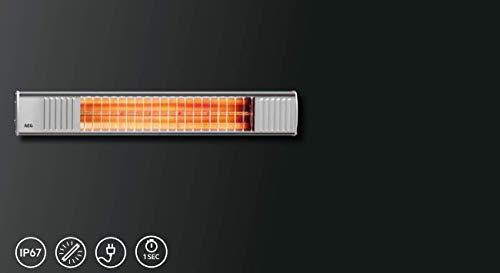 AEG Terrassen-Heizstrahler IR Premium 2000 W, hocheffiziente Qualitäts-Goldröhre, nicht-rostend, 229945 - 4