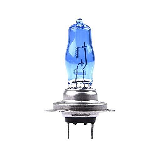 iBoosila H7 12V 55W Xenon Optik Effekt Halogen Lampen Birnen Licht Optik von Diamond Vision Super White 8500k Longlife Nightbreaker E-Prüfzeichen 100 Passgenauigkeit Abblendlicht Fernlicht 2St