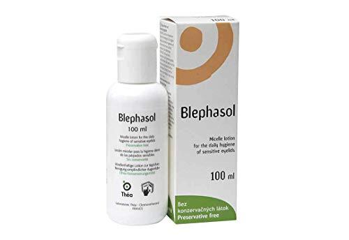 Blephasol-Lotion, 100ml, für Behandlung von Blepharitis (Lidrandentzündung), ohne Konservierungsmittel
