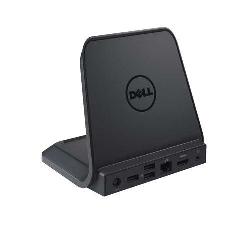 Original Dell Dockingstation Dock für Latitude ST, 3x USB 2.0Anschlüsse, Gigabit Netzwerk Port, HDMI, mit 65W AC Adapter & UK Netzteil Kabel