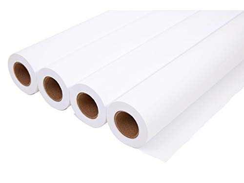 MyOfficeInnovations 1031328 Wide Format CAD Bond Paper, 30-inch x 150-ft, 4/Carton