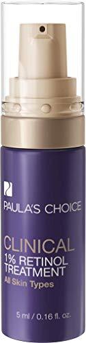 Paula's Choice Clinical Anti-Aging 1% Retinol Serum - Anti Rimpel, Huidverstevigende Crème voor het Gezicht - met Peptiden & Vitamine C - Alle Huidtypen - 5 ml