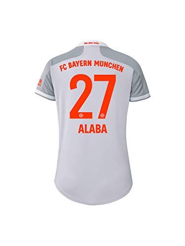 FC Bayern München Damen Away-Trikot Auswärts Saison 2020/21, Gr. L, David Alaba