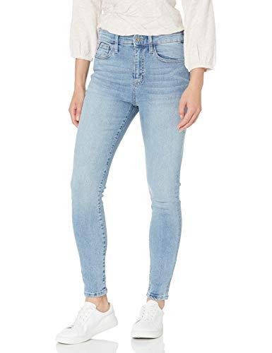 Nautica Women's High-Rise Skinny Jeans, Light Wash, 6