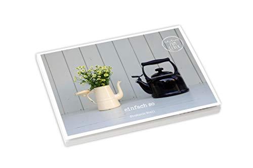 Einfach so - Postkartenbuch (Mit Herz und Hand gemacht)