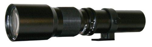 Rokinon 500P 500mm F/8 Preset Telephoto Lens (Black)