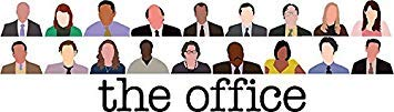 MR3Graphics Magnet The Office Characters Magnetic Car Sticker Decal Bumper Magnet Vinyl 5'