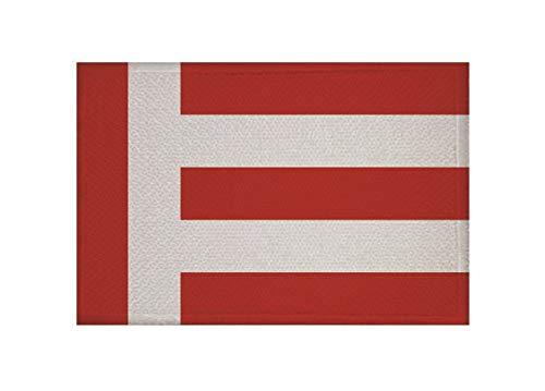 U24 Applicatie Eindhoven vlag opstrijkapplicatie 9 x 6 cm