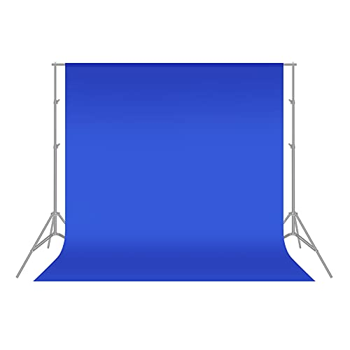 Neewer 6 x 9ft 1.8 x 2.8M Photo Studio 100% Pure Polyester Collapsible Backdrop Background for Photography,Video and Televison(Blue)