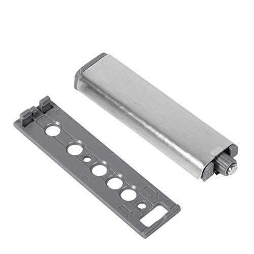 Sistema amortiguador de puerta abierta, amortiguador amortiguador resistente a la corrosión, caja de acero inoxidable, fácil de instalar, para armario con cajones(Head type)