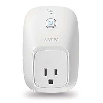 WeMo Switch Smart Plug Works with Alexa
