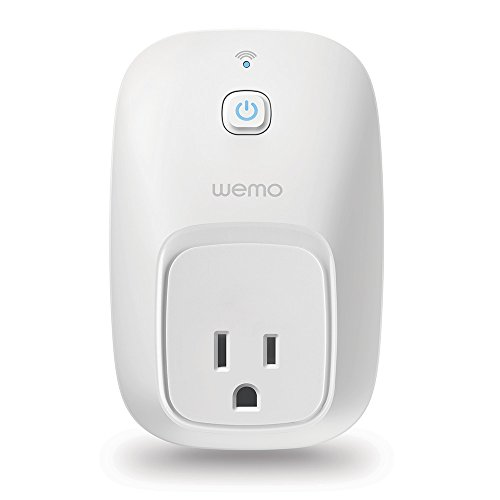 WeMo Switch Smart Plug, Works with Alexa