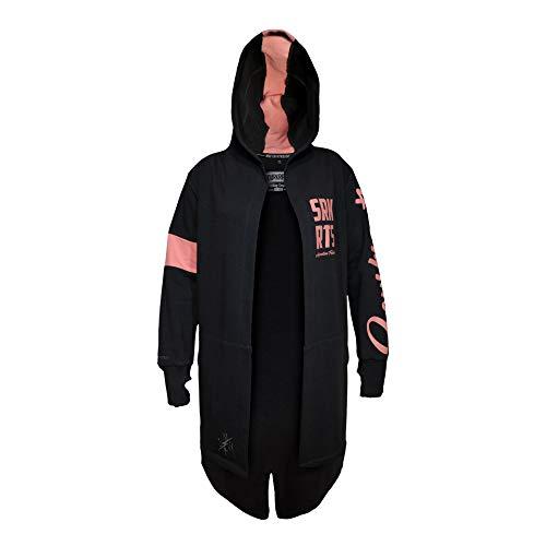 SOURKRAUTS Sudadera Finnja I chaqueta de punto en antracita rosa I chaqueta de mujer con capucha en diferentes tamaños antracita XXS