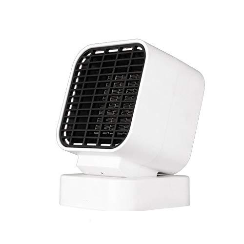JIANCHI 3 Segundos Rápido Ventilador Calefactor Eléctrico, Mini Estufa Calefactora Portátil PTC Calentador Cerámica Invierno Calefacción Interior del Hogar Camping 500W Calefactor