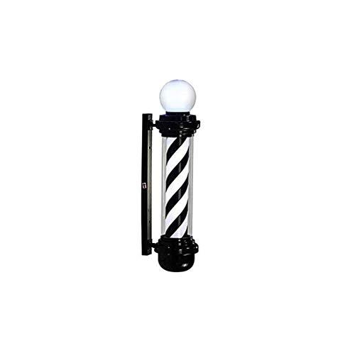 Risareyi LED de poste del peluquero de luz, a prueba de agua Luz a la pared exterior, Señal retro raya ahorro de energía ligera del salón for la tienda de saló taza de peluquería