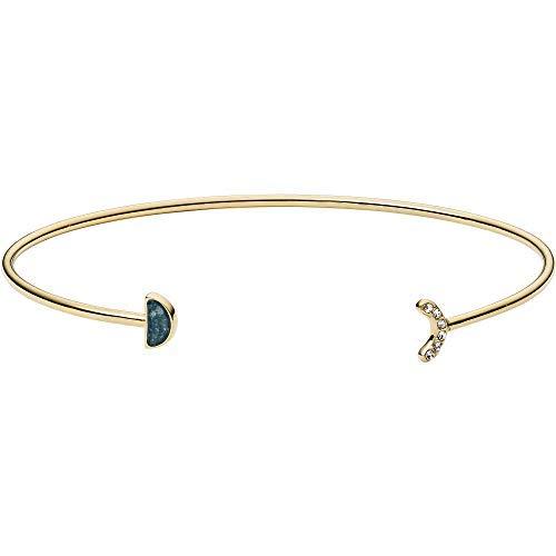 Fossil Damen-Manschetten Armbänder Edelstahl zirkonia JF02944710