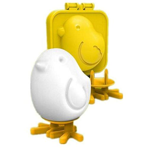 Chicken Shaped Boiled Egg Mold,Cute Chick egg Mold Kitchen Gadget Supplies Deformed Eggs,Stand Up Egg Mold, Eggs Mold
