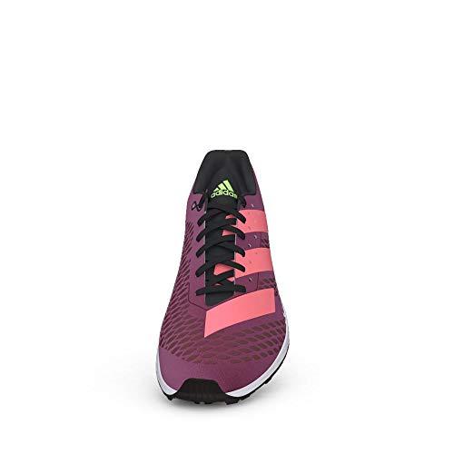 adidas Adizero XC Sprint W, Zapatillas de Atletismo Mujer, NEGBÁS/ROSSEN/VERSEN, 40 EU