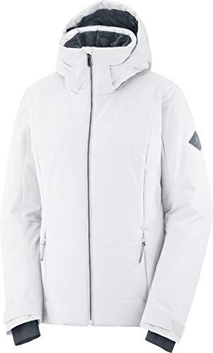 SALOMON Prevail Jacket W Chaqueta, Mujer, White, l