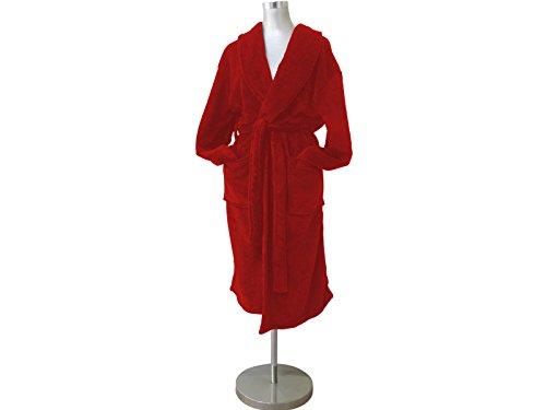 Soleil d'ocre 451005B MICROFIBRE Peignoir de bain Polyester Rouge 180 x 50 cm XL