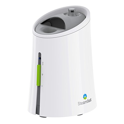 Steamfast SF920 Warm Mist Humidifier and Steam Vaporizer with Auto ShutOff FilterFree Design Aromatherapy Essential Oil Ready 1 Gallon CapacityWhite