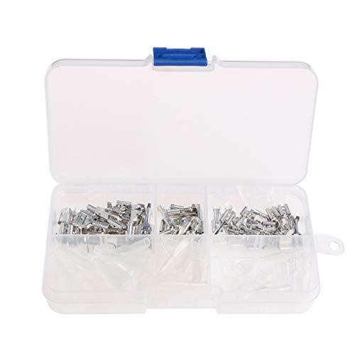 BIlinli 120 x 2,8 mm 4,8 mm 6,3 mm Crimp-Isolierklemme-weibliche Kabelschuhhülse