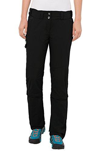 VAUDE Damen Hose Skomer Capri Zip Off Pants, Black, 34/XXS, 5405