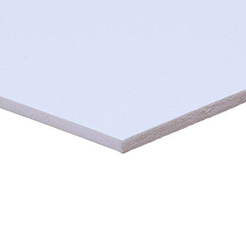 "Sintra e-PVC 3mm Expanded PVC Board - White 24""x36"" (5 Sheets)"