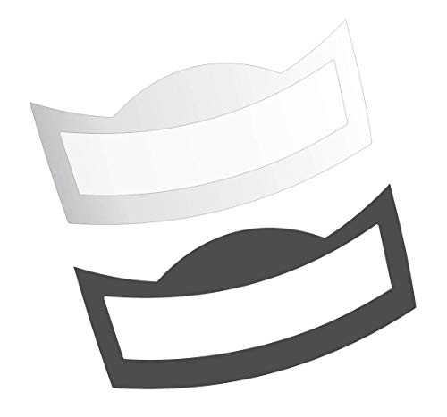 3 x Schutzfolie für Jura E-Line - S8 - S80 - E8 - E80 Modell 2018 Tassenablage, Abtropfblech, Tassenplattform