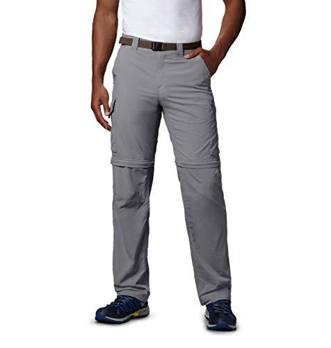 Columbia Silver Ridge Pantalon de Pantalon Convertible pour Homme – Gris, 30