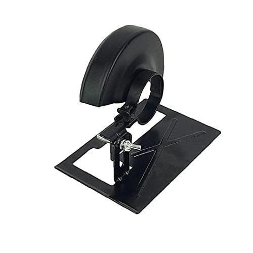 TOSSPER Angle Grinder Herramienta De Conversión Amoladora Angular Holder + Protector De La Cubierta 20-30mm Ajustable para La Herramienta De Bricolaje Carpintería