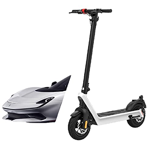 AOOF Electric Scooter, Endurance 70KM high-Power Off-Road Folding Adult 10 inch Electric Scooter Whitex9plus36v/15.6ah/850w/70kmendurance