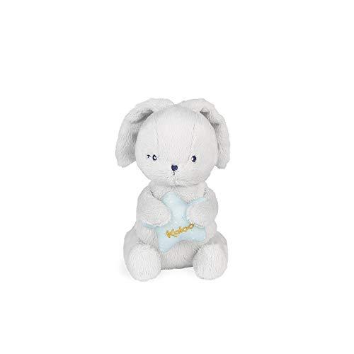 Kaloo Home: Conejo K969906 Peluche Musicale para Bebé, 16 cm, Gris