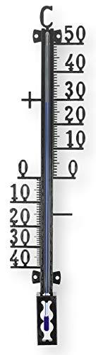 Lantelme - Termometro da giardino, da 18 cm a 66 cm, analogico, per esterni, balcone, giardino