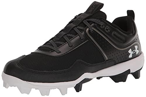 Under Armour Women's Glyde RM Softball Shoe, Black (001)/Black, 9.5