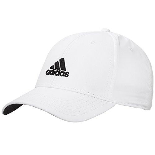 Adidas Golf Herren Performance Max. bequemer Seitensitz verstellbar Mütze - Weiß
