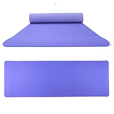 Fitness Mat, Zyqzw Non Slip Exercise Pad Portable Double Color Yoga Mat Waterproof Elbow Cushion for Outdoor Sports Fitness