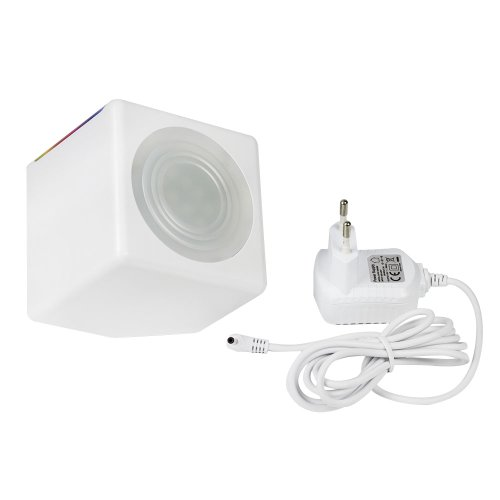 Sfeerlicht MINI/LED straaler met touch-control en netdeel, Mood-Light mini *wit*