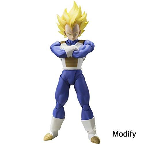 """Estatuilla de China, versión modificada, diferente de otras versiones La altura es aproximadamente 7,8 pulgadas móvil conjunta Desde el anime y el manga clásico uno de los personajes importantes en el cómic japonés serie """"Dragon Ball"""", uno de los gue..."""