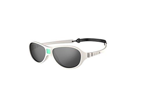 Ki ET LA – Gafas de sol para Bebé modelo Jokaki – 100% irrompibles - color Crema – 12-30 meses
