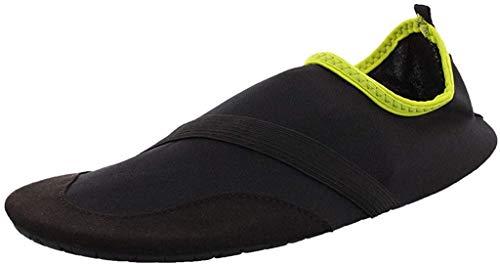 FitKicks Original Men's Edition Foldable Active Lifestyle Minimalist Footwear Barefoot Yoga Water Shoes Black
