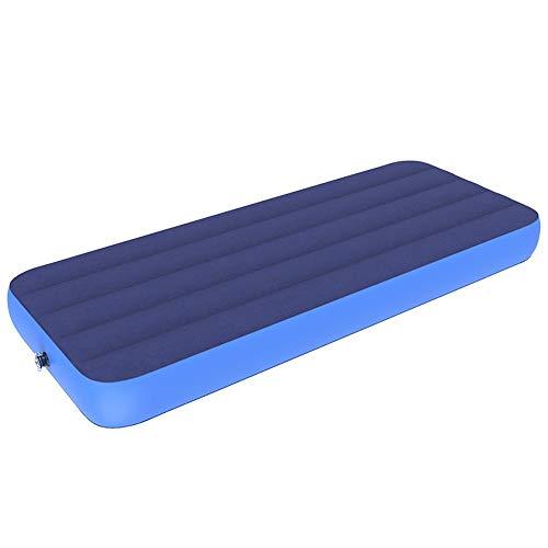 Strandzelt Komfort-Luftmatratze - Aufblasbare Luftmatratze mit Luftmatratze und eingebauter Pumpe für Campinggäste Camping Zelt (Color : Bed+Hand Pump, Size : 191 * 76 * 22cm)