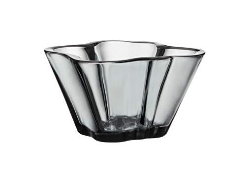 Iittala Aalto Schale, Glas, Grau, 7.5 x 7.5 x 7.5 cm