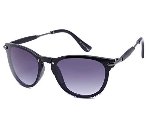 Alsino Viper Eyewear Collection Lunettes de soleil avec monture caoutchoutée et protection UV 400 Unisexe, Noir