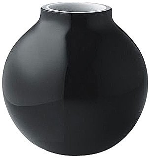 Menu 4758539 Ball Glasvase, schwarz