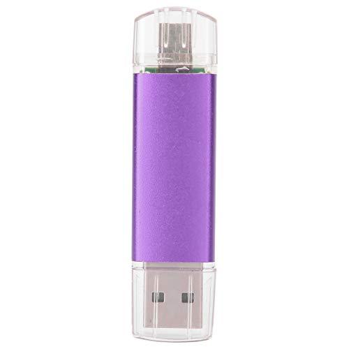 Mothinessto Chiavetta USB per chiavetta USB ad Alta velocità, chiavetta USB per Dischi U 2 in 1 chiavetta USB OTG(8GB)